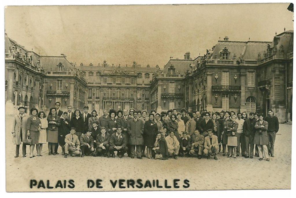 Viaggio a Parigi, 1964.